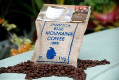 8oz Strawberry Hill 100% Certified Jamaica Blue Mountain Coffee ground Coffee