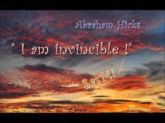 """Abraham Hicks - """"I am invincible!"""" SasM!X"""