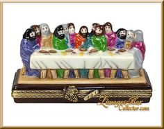 Last Supper Limoges Box by Beauchamp