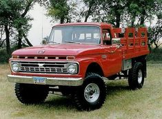 1966 Ford Factory very nicely restored Flat Bed Stake Truck Classic Ford Trucks, Ford Pickup Trucks, 4x4 Trucks, Custom Trucks, Lifted Trucks, Cool Trucks, Chevy Classic, Diesel Trucks, Classic Cars