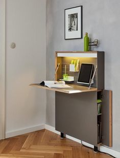 Home Office Design, Home Office Decor, House Design, Home Decor, Office Ideas, Space Saving Furniture, Home Office Furniture, Furniture Dolly, Furniture Chairs