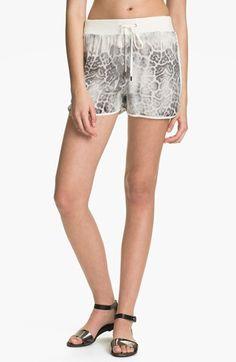 Rebecca Taylor Print Silk Shorts | Nordstrom