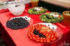 Sesame street themed food trays!