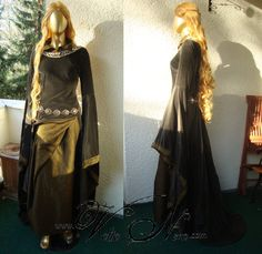 Lord of the Rings gown Eowyn costume