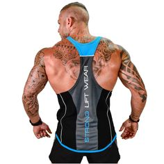Mens Tank top Gyms Fitness Bodybuilding sleeveless shirt muscle Male Cotton  Crossfit clothing Casual Singlet vest f77a39502
