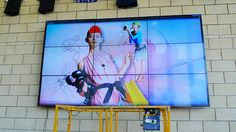 MCS Ltd of West Sussex created a video wall with Chief's ConnexSys system at Harris Girls Academy in southeast London.