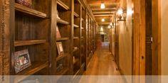 Hallway Bookshelves - OneArchitects.com