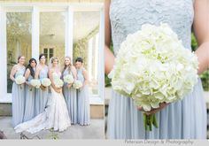 Navy, Gold, Silver, Grey and red Americana wedding at the Lindley-Scott House in Azusa, CA, Bridal party with American flags, dress by @allurebridals and ombre wedding cake, bride and groom Coca Cola bottles