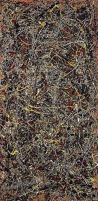 One of the world's most expensive paintings by jackson pollock