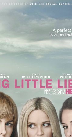 With Alexander Skarsgård, James Tupper, Laura Dern, Adam Scott. Tells the tale of three mothers of first graders, whose apparently perfect lives unravel to the point of murder.