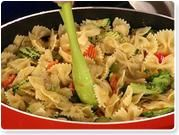 Kris Jenner's Pasta Primavera she made on the Rachael Ray show!