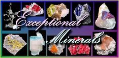 Exceptional Minerals features excellent, high quality mineral specimens for sale. We also have a weekly Best Offer Mineral Auction.