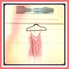 NWT BEBE SILK top Gorgeous sweet dressy silk top.  Scalloped edge and braided and pleated detail on straps and neckline.   PERFECT for a summer evening. BRAND NEW with tags ! bebe Tops