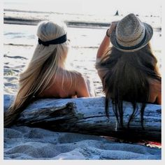 Chill on the Beach with my Besties- many times in Mykonos, Mexico and Roatan