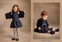 Fashion Baby // Armani Baby // How to dress your kids // #baby #fashion