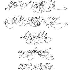 springtime in paris lettering stencil - Google Search