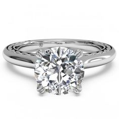 Ritani 1RZ2828 Engagement Ring- Genesis Diamonds