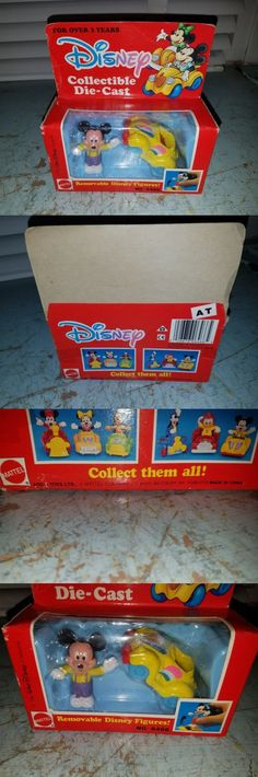 Pluto 19221: Vintage Disney Mickey Mouse Figure With Die Cast Car Sealed Mattel Arco Toys -> BUY IT NOW ONLY: $34.99 on eBay!