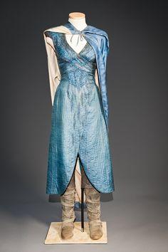 Game of Thrones, Season 3   Daenerys Targaryen dress   Costumes by Michele Clapton.