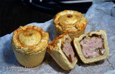 Cut Pork Pies Lancashire Food Photography Blackpool England, British, Irish Sea, Food Photography, Photographs, Breakfast, Kitchens, Morning Coffee, Photos
