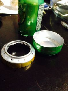 Create what will be the base of the Soda Pop Stove Soda Can Stove, Coffee Maker, Kitchen Appliances, Base, Canning, Pop, Create, Coffee Maker Machine, Diy Kitchen Appliances