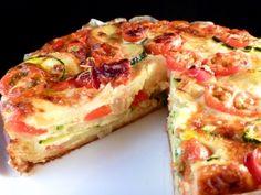 Courgette and Potato Pie (Pastel de Calabacin yPatatas)