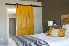 Instrucciones de como hacer una puerta corredera con palets
