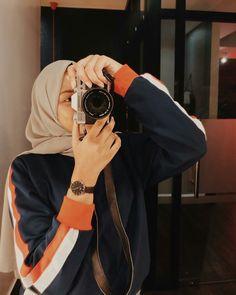 Casual Hijab Outfit, Ootd Hijab, Hijab Chic, Modest Fashion, Hijab Fashion, Fashion Outfits, Womens Fashion, Hijabi Girl, Girl Hijab