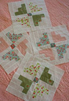 """Sewn With Grace: Piece by Piece using Carousel pattern, from book:  """"Simply Fat…"""