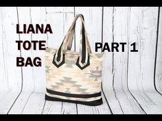 LIANA 1 - HAND BAG TOTEBAG - ZIP POCKETS / DIY Bag Vol 23A - YouTube