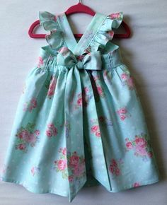 Flower Girl Dress Baby Girls Dress Little Girl Dress Aqua Dress Toddler Dress Childs Dress Dress Party Dress Flutter Sleeve Dress Frocks For Girls, Little Dresses, Little Girl Dresses, Girls Dresses, Flower Girl Dresses, Pageant Dresses, Baby Dresses, Dress Girl, Dresses Dresses