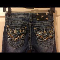 Size 24 MissMe jeans Size 24 boot cut miss me jeans, worn twice. Miss Me Jeans Boot Cut