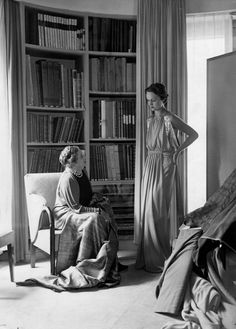 Vintage Photos of Jeanne Lanvin, Jean-Paul Gaultier, Christian Dior and More - The New York Times Jeanne Lanvin, Jean Paul Gaultier, Dior Vintage, Vintage Glamour, Mother Daughter Relationships, Art Deco Movement, Vintage Fashion Photography, French Chic, Couture Week