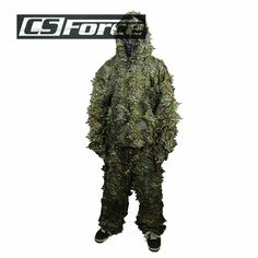 31.58$  Buy here - http://ai8go.worlditems.win/all/product.php?id=32666863986 - Airsoft Tactical Hunting 3D Leaf Camo Uniform Military Paintball Bionic Disguise Sniper Archery Ghillie Suit Disguise Uniform