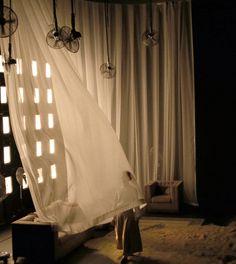 Sils - Kaboul, set design Anna Popek, dir. A. Bisang, Théâtre Populaire Romand, La Chaux-de-Fonds, 2015