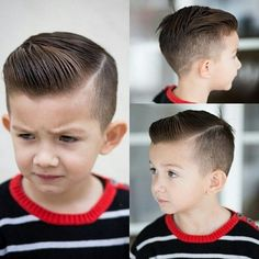 Fade with Side Part