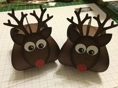 Hello and welcome back to another Curvy Keepsake Wednesday, This weeks box is a little Rudolf the Red Nosed Reindeer and he is oh so cute. Stampin Up Christmas, Christmas Paper, Christmas 2019, Handmade Christmas, Christmas Ideas, Fancy Envelopes, Christmas Gift Card Holders, Fun Fold Cards, Pillow Box