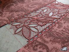 How To Align Machine Embroidery designs with Lace. Your hoop is not one-size-fits-all. You become acutely aware of it when you need to embroider lace ribbons or edgings. This master-class will tell you how to align machine embroidery designs with lace so that the joining places could not be seen. This master-class shows working in the embroidery design software (creation of the alignment crosses), and also the embroidery process.