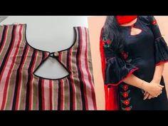Latest kurta neckline design with piping – dressideas Chudidhar Designs, Churidhar Neck Designs, Salwar Neck Designs, Neck Designs For Suits, Kurta Neck Design, Neckline Designs, Sleeves Designs For Dresses, Fancy Blouse Designs, Kurta Designs Women