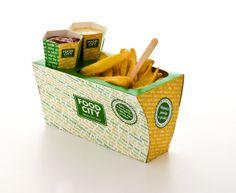 Modular Takeaway Fast food packaging on Behance