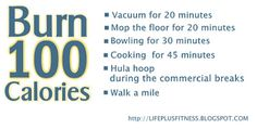 Easy Ways to Burn 100 More Calories A Day