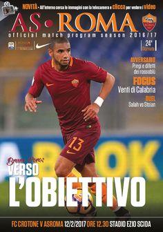 Avviciniamoci alla sfida di domenica attraverso le pagine del Match Program ufficiale dedicato a Crotone-Roma