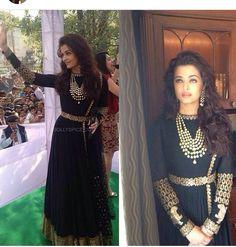 ❤️ Aishwarya Rai Bachchan, Prom Dresses, Formal Dresses, Punjabi Suits, Indian Outfits, Indian Fashion, Wedding Events, Sequin Skirt, Sari