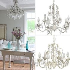 Get this look with Edward and Ellen's #wetherby awesome chandaliers arriving this week, pure and utter chicness for the envy of all your friends! https://www.facebook.com/edwardandellenshabbychicstyle?fref=ts