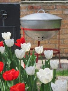 1952 Weber kettle grill - The Original Weber Grill, Bbq Grill, Grilling, Pit Beef, Weber Kettle, Vintage Appliances, Outdoor Cooking, Getting Old, Allrecipes