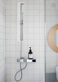 Salle de bain carrelage blanc / white tiles