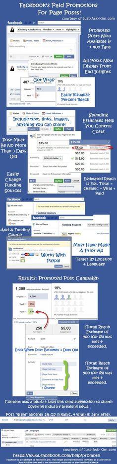 FaceBook introduce post promovidos (vía @Alfredo Vela)