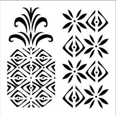 Purchase the FolkArt® Laser-Cut Small Stencil, Pineapple at Michaels.com. Make quirky patterns on your handmade cards using this FolkArt stencil.