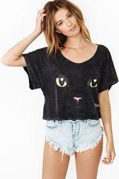 Bad Kitty Tee