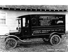 Delivery truck, 1919.